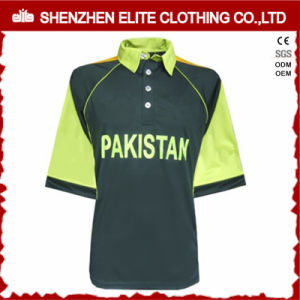 Custom Made Top Quality Sublimated Cricket Jerseys (ELTCJI-35) pictures & photos