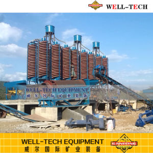 Spiral Concentrator for Chromite Plant pictures & photos