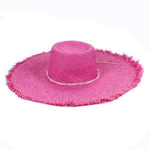 Women Big Brim Summer Beach Straw Hat pictures & photos