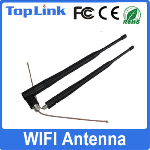 Dual Band 2.4G/5g Rubber WiFi Antenna with RF Cable for Set Top Box pictures & photos