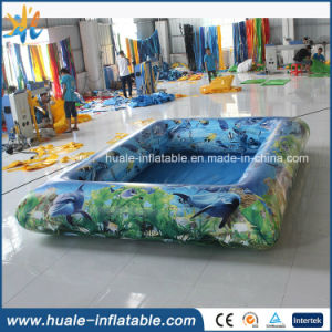 2016 Newest Painted Inflatable Swimming Pool for Water Game pictures & photos