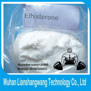 Healthy No Side Effect Steroids Powder of Ethisterone CAS 434-03-7 pictures & photos