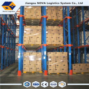Electriastic Power Coating Steel Drive in Pallet Rack pictures & photos