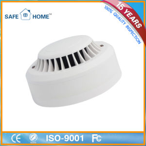 Wired Photoelectronic Heat and Smoke Detector for Home Security Systems pictures & photos
