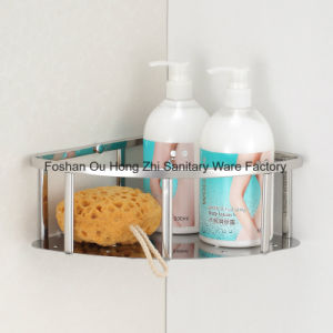 Bathroom Accessories Corner Mirror Shower Basket of Stainless Steel 304 pictures & photos