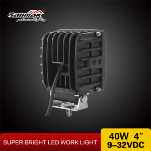 40W Work Light 4.25′′ LED Super Bright Working Lamp pictures & photos