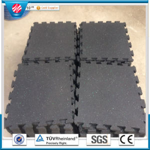Anti Slip Interlocking Rubber Gym Mats Sale pictures & photos