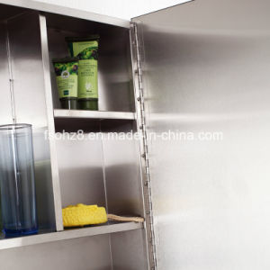 Big Sale in India Stainless Steel Furniture Bathroom Mirror Cabinet (7022) pictures & photos