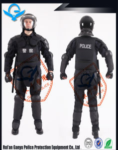 Professional Violence Proof Police Equipment/ Fireproof Oxford Fabric Anti Riot Suit pictures & photos