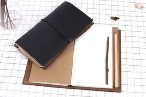 Maxleaf New Design Traveler′s Notebook with PU Leather