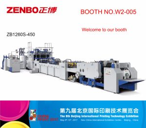 Fully Automatic Sheet-Feeding Paper Bag Making Machine (ZB1260s-450) pictures & photos