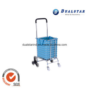 Portable Supermarket Luggage Cart with Aluminium Tube pictures & photos