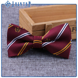 Stripe Bow Tie for Uniform with Custom Logo pictures & photos