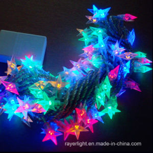 LED Holiday Decoration Shining Curtain Star String Lights pictures & photos