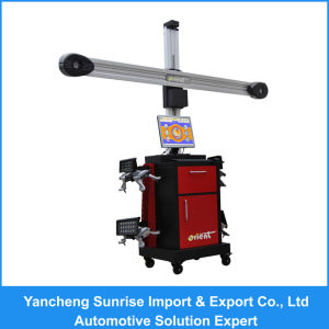 V3d Wheel Alignment Machine - Small Targets with HD Cameras pictures & photos