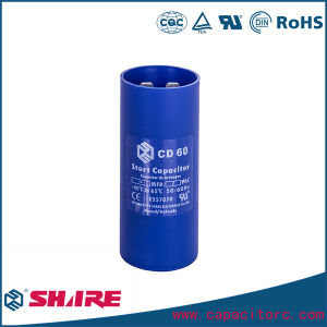 CD60A CD60b AC Motor Start Capacitor for Refrigerator and Air Conditioner pictures & photos