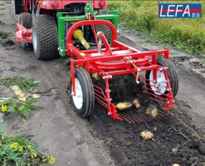 One Row Garlic Harvester Potato Digger with Ce pictures & photos