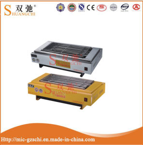 Single Head Stainless Steel/Sprayed Material Electric BBQ Grill pictures & photos