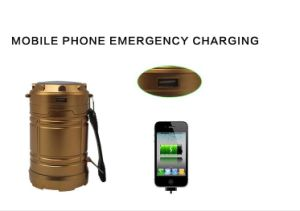 Handed Emergency Rechargeable Solar Camping Lamp pictures & photos