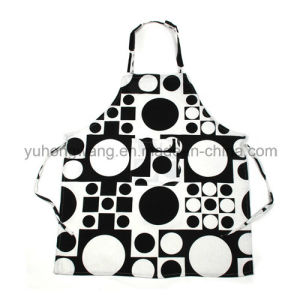 Lady Beautiful Printed Kitchen Working Apron pictures & photos