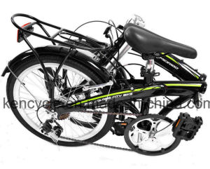 20 Inch Aluminum Material 7 Speed Folding Bike /High Quality Road Folding Bike pictures & photos