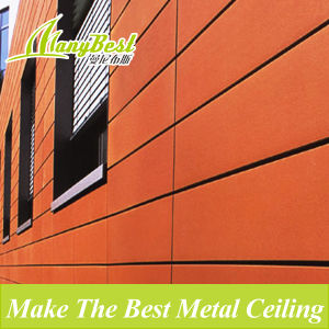 20 Years Guarantee Aluminum Metal Wall Cladding with Fireproof Certificate pictures & photos