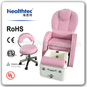 Pink Whirlpool Pedicure Chair Make in China (F531B) pictures & photos