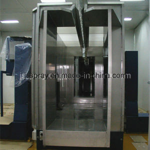Stainless Steel Powder Booth for Powder Spraying