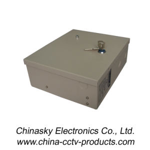 12VDC 5AMP 9channels CCTV Power Distribution Box with Lock&LED (12VDC5A9PE) pictures & photos