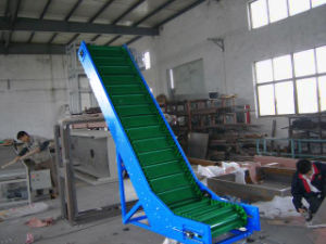 Automatic Incline PU Belt Conveyor pictures & photos