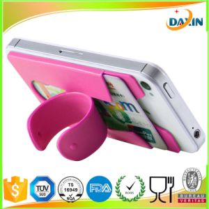 Wholesale OEM Custom Sticky Cell Phone Silicone Slap Stand pictures & photos