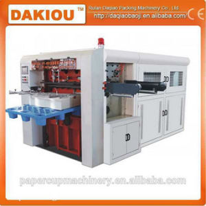 High Speed Automatic Paper Cup Printing Die Cutting Machine pictures & photos