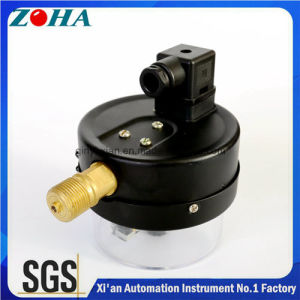 100mm Diameter Commercial Electric Contact Pressure Gauges with Magnetic pictures & photos