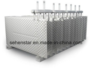 "Dairy Industry Waste-Water Cooling System ""316 Food Grade Stainless Steel Plate Heat Exchanger"" pictures & photos"