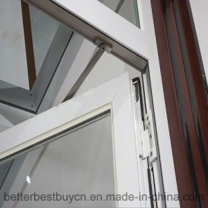 White Aluminium Window with Casement Opening pictures & photos