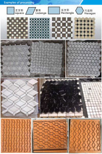 Saw Cut Face Granite&Marble Tile Cutting Machine From China pictures & photos