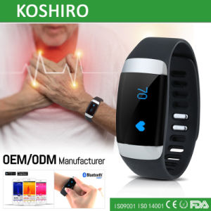 Smart Health Heart Rate Monitor Watch for Ios and Android pictures & photos