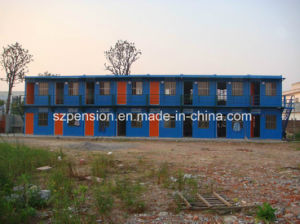 Peison Colorful Design Prefabricated/Prefab Mobile House pictures & photos