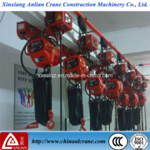 Electric Chain Running Trolley Lifting Hoist pictures & photos