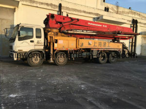 42m Used Bulk-Shipping 8*4-LHD-Drive 26ton Isuzu-Chassis Putzmeister Pump Truck pictures & photos