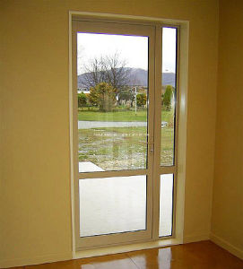 Vantage Obscure Insulated Double Glass Aluminum Doors pictures & photos