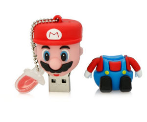 Mario USB Flash Drive Cartoon Cool Yoshi 4G Mario Dinosaur Shaped 64G Memory Stick pictures & photos