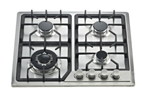 Built-in Gas Stove with S/S Top Cover Four Burner Sn-614 pictures & photos