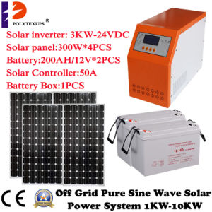 24VDC 3000W Pure Sine Wave Home UPS Converter with Built in 20A Charger