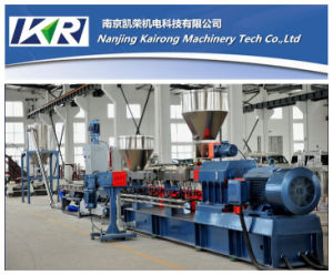 PE/PP+ CaCO3 Filler Masterbatch Co-Roating Twin Screw Extruder pictures & photos