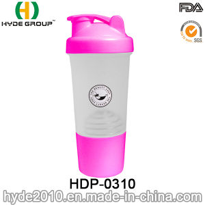 2016 Newly PP BPA Free Plastic Protein Shaker Bottle (HDP-0310) pictures & photos