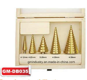 5 PCS HSS Step Drill Set (GM-dB035) pictures & photos