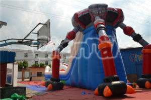 Hot Sale Popular Inflatable UFO Alien Trespass Slide for Kids pictures & photos