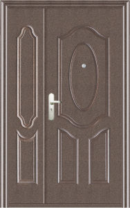 Steel Entry Door (WX-S-111-1200) pictures & photos