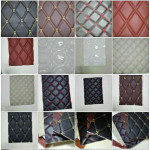 Leather Car Mats PVC Leather pictures & photos